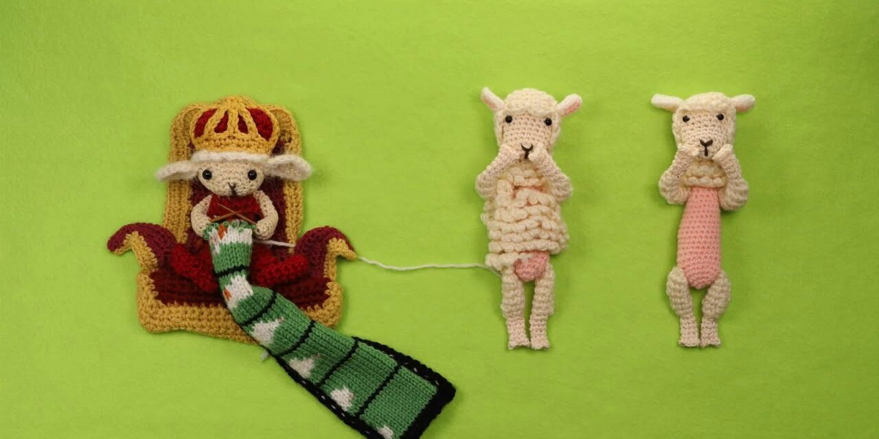 "Watch This New Knitted Stop-Motion Animation: ""The King of Amechau Country"" By Miho Yata"
