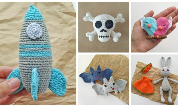 Designer Spotlight: The Most Creative and Cute Amigurumi Toys You'll Ever See … Patterns By Mila!