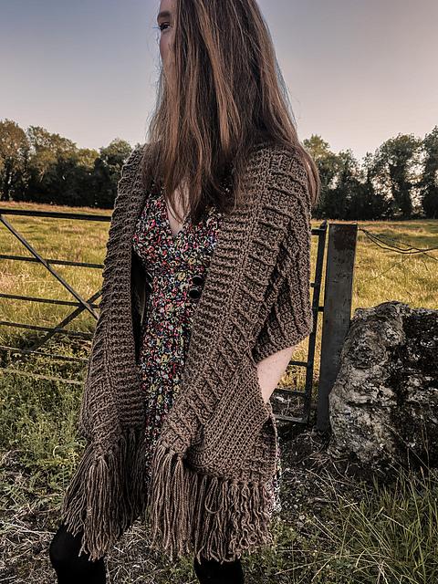 The Best FREE Knit & Crochet Pocket Shawl Patterns