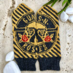 Knit a Pair of Guns 'n' Roses Mittens, Designed By Lotta Lundin, and Unite Slash 'n' Axl in Yarn … Forever!