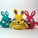 Crochet a Teeny Kitty Cat Or a Freaky Bunny Rabbit … These Wacky Amigurumi Make Me So Happy!