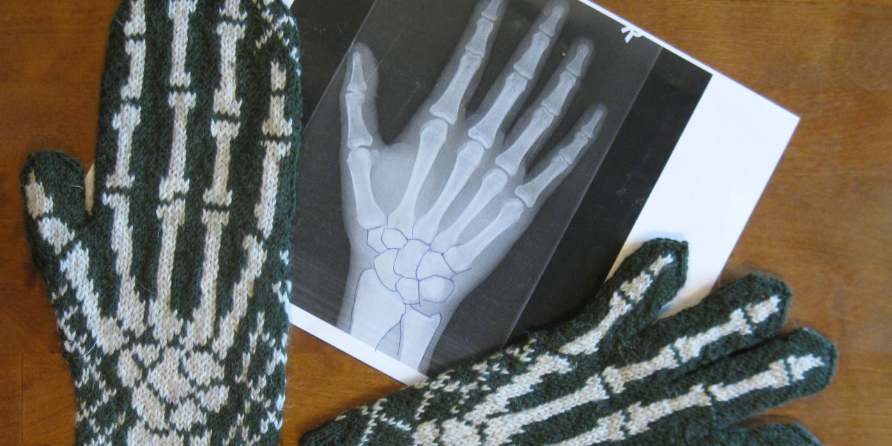 Knit a Pair of Awesome X-Ray Gloves, Join This FREE Kal!