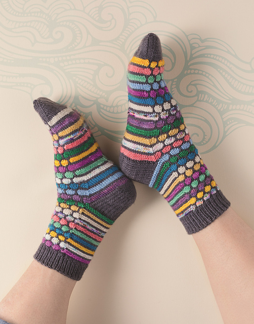 OMG, I Love These Handmade Knit Socks ... You'll Want To Knit 'Em Up!