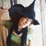 The Perfect Witch Hat Pattern For Crocheters … It's FREE and Halloween Is Coming!