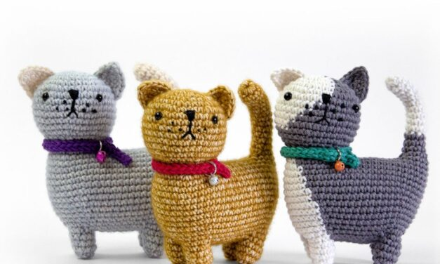 Crochet an Ugo The Cat Amigurumi – Cute Gift Alert!
