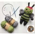 Knit & Crochet 'Zombee Patterns' By Stitch Witch Creations – So Cute!