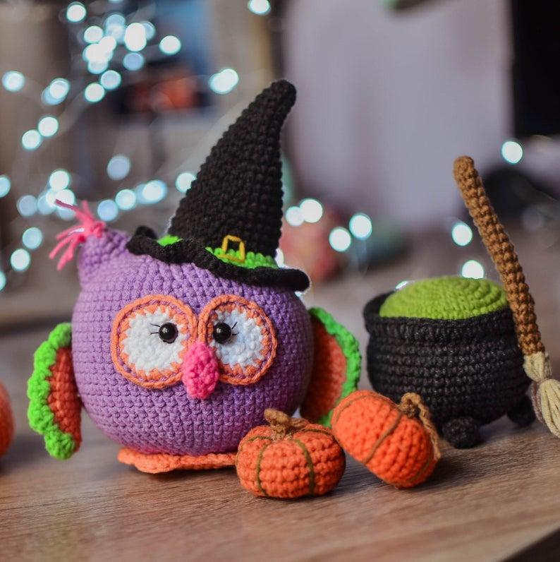 Designer Spotlight: The Best Halloween Amigurumi Designed By Tatyana Lysenko of Magicfilament