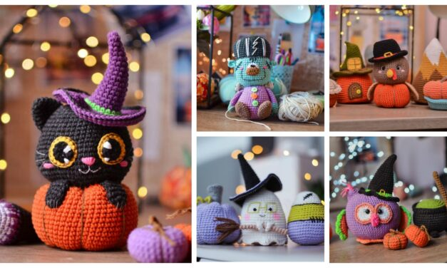 Designer Spotlight: The Best Halloween Amigurumi Designed By Tatyana Lysenko of Magicfilament