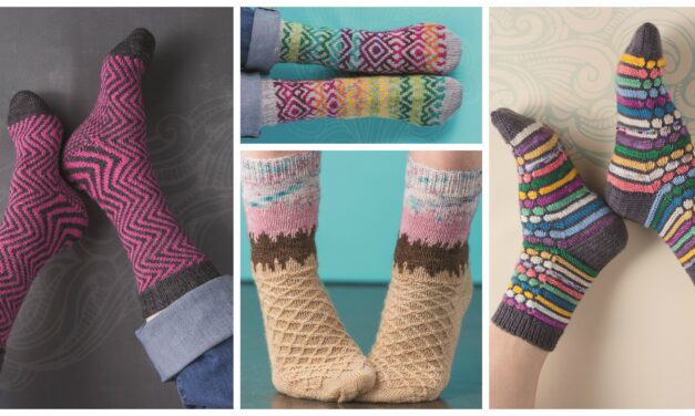 OMG, I Love These Handmade Knit Socks … You'll Want To Knit 'Em Up! #OperationSockDrawer