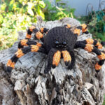 These Knit Tarantula Spider Baubles Have A Secret! Knit One To Find Out …