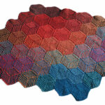 Knit An Illusion Cube Blanket … The Perfect Stashbuster For Fall Knitting
