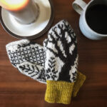 It's The Perfect Time To Knit a Pair of Manitoba Maple Mittens Designed By Laura Harby