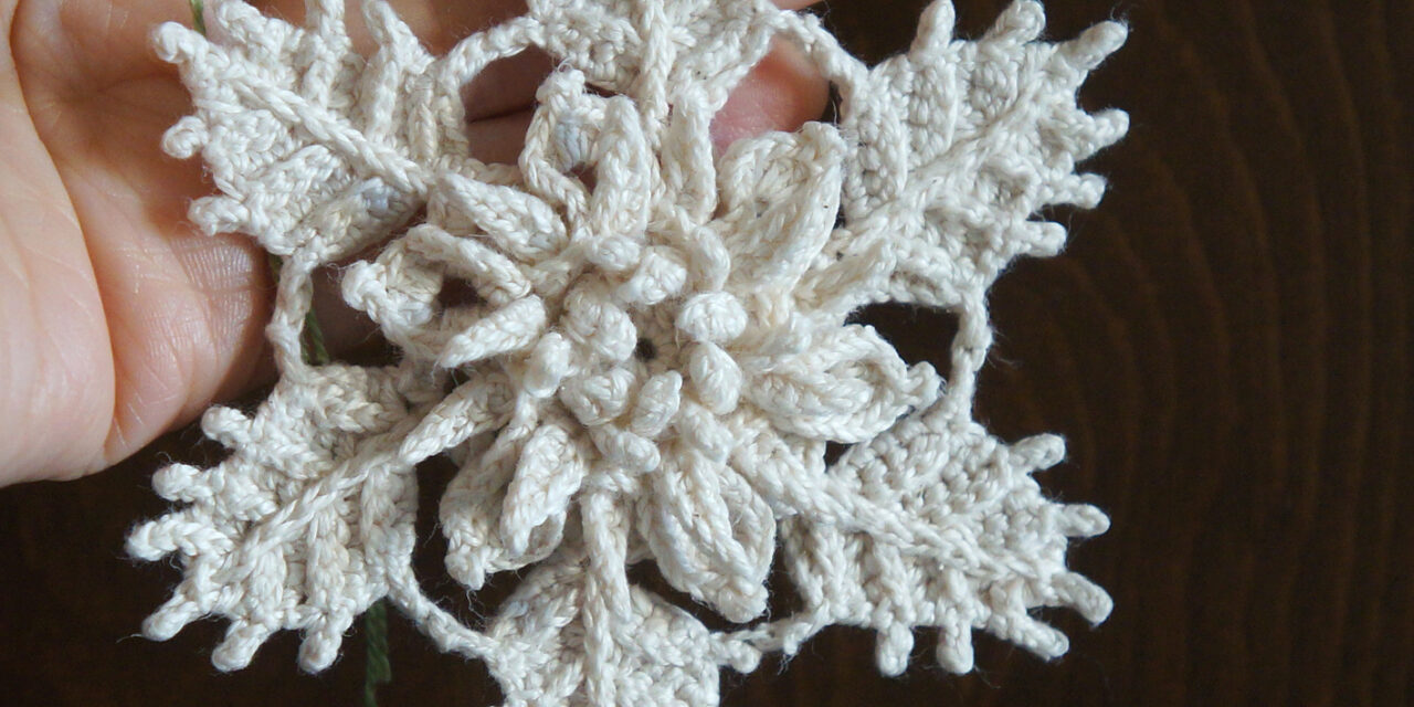Sophisticated, Delicate, Intricate, Exquisite … This Lovely Snowflake Pattern For Crocheters Is A Must-Make