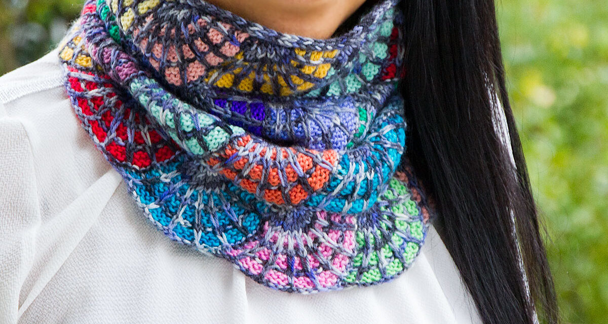 Knitters, This Exotic Burst Cowl Designed By Dolly Laishram Is Pure Stitchcraft