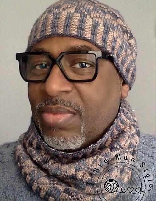 Knit a Popular Jax Hat and Cowl Set Designed By Nikolett Corley Designs