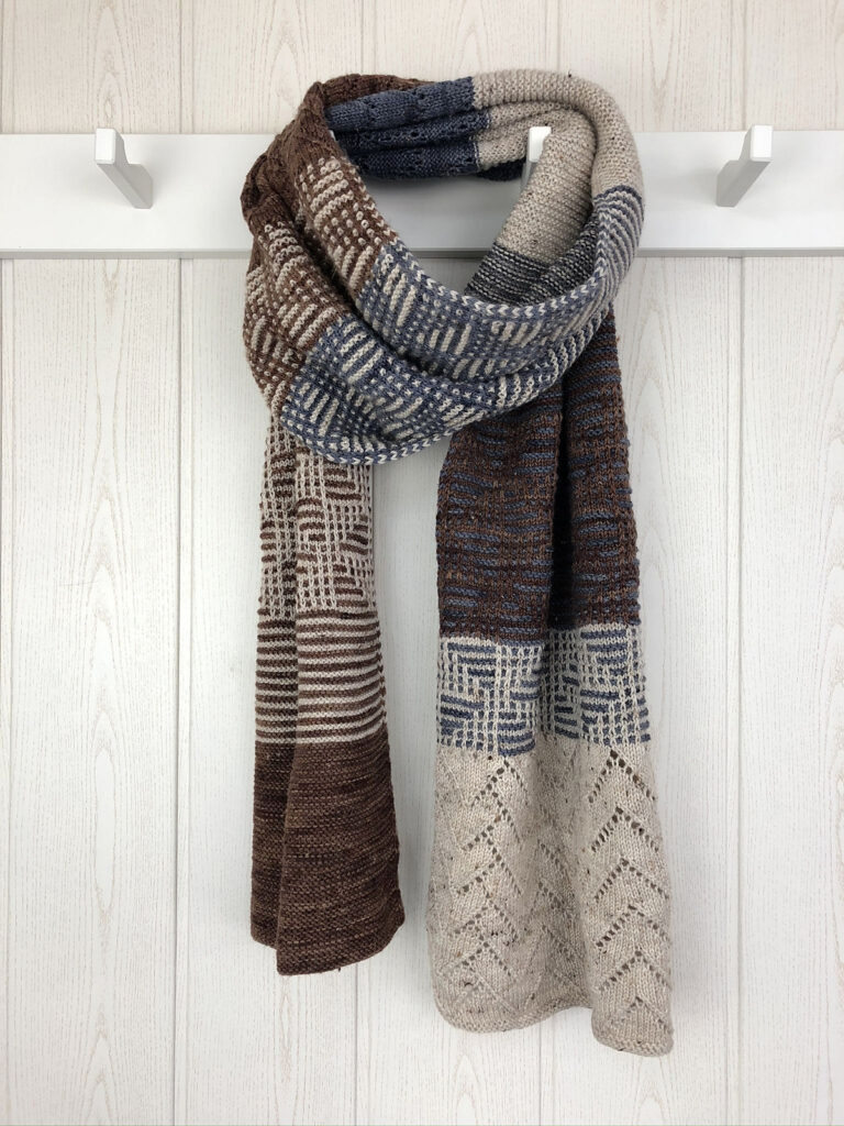 Proof That Knitting Scarves Can Be Sophisticated and Elegant, The Ostwind By Babette Ulmer Get A+ In Design!