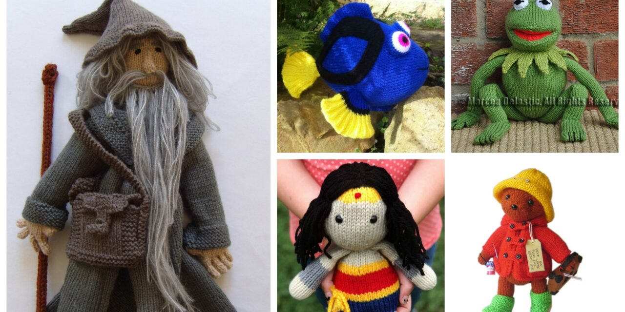 Designer Spotlight: The Best TV, Movie & Storybook Character Patterns Just For Knitters