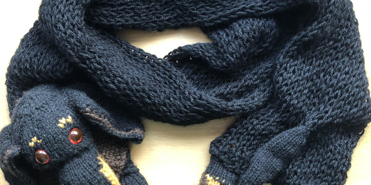 Knit a Dachshund Doggy Scarf … Cute, Creative and Makes a Great Gift!