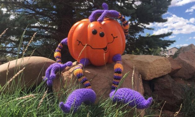 Crochet a Set of Wired Arms & Legs Pattern for Any Holiday Pumpkin!