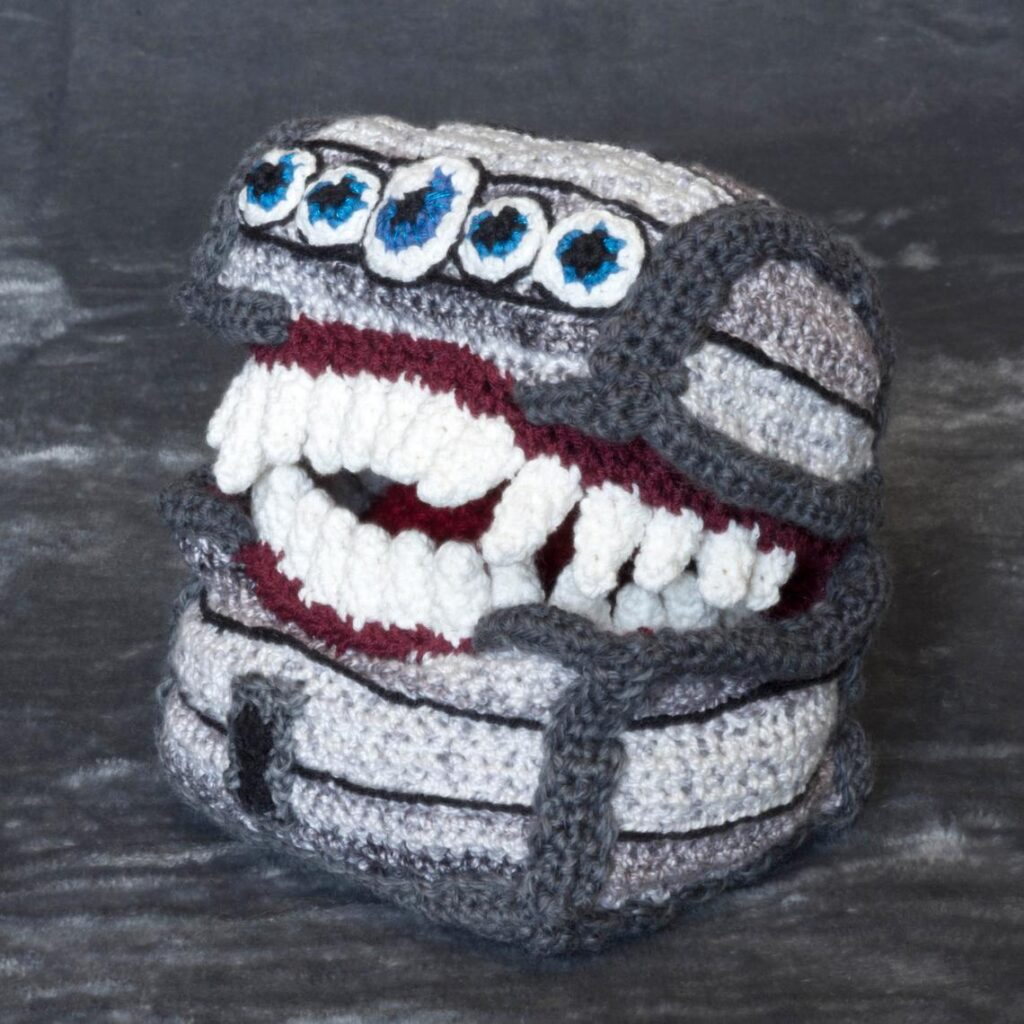 Crochet a Mimic From Dungeons & Dragons ... What A Copycat!