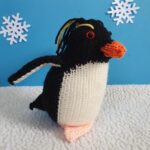 No One Can Resist Alan the Rockhopper Penguin – An Amigurumi You Can Knit, Get The Pattern Or Kit!