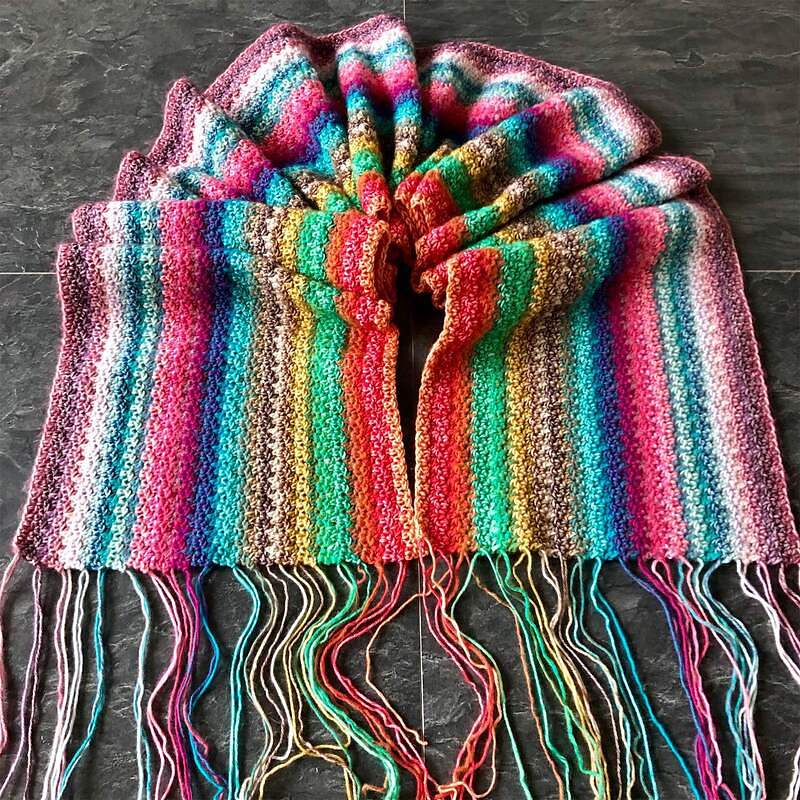 Crochet a Coming Out Day Scarf To Mark the Day!