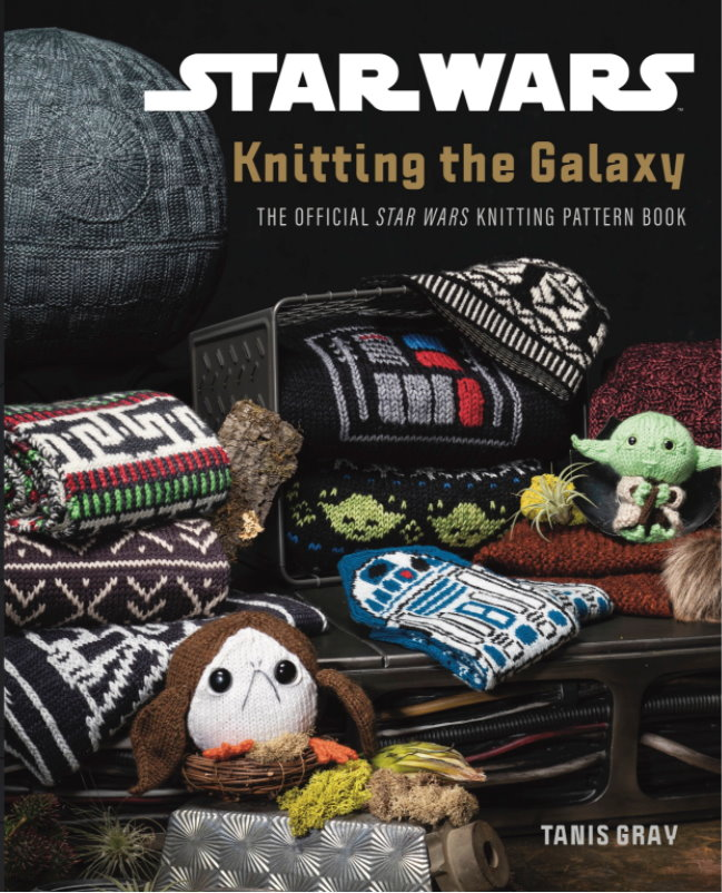 NEW BOOK: Pre-Order Your Copy of 'Star Wars: Knitting the Galaxy: The Official Star Wars Knitting Pattern Book'