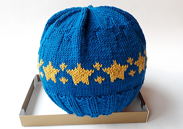 Free Pattern Alert: 'Be Part of the Stars!' Hat Pattern Designed By Sabine Meins