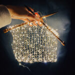 Knitting With Lights … Who Needs Yarn?