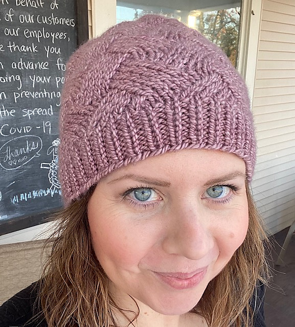 Knit a Lazy Monday Hat Designed By Katie Pomper … This May Be the Perfect Hat!