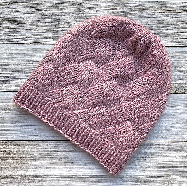 Knit a Lazy Monday Hat Designed By Katie Pomper ... This Might Be the Perfect Hat!