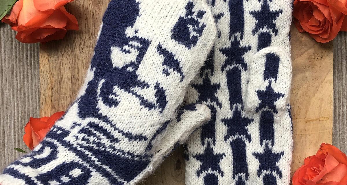 Knit a Pair of Joe Biden Mittens Designed By Lotta Lundin
