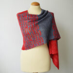 Knit a Gorgeous Garter Stitch 'Keten' Shawl Designed By Susanne Visch