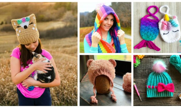 Designer Spotlight: The Best Of Crazy4CrochetMomma, Colorful and Fun Designs By Miranda McFrederick