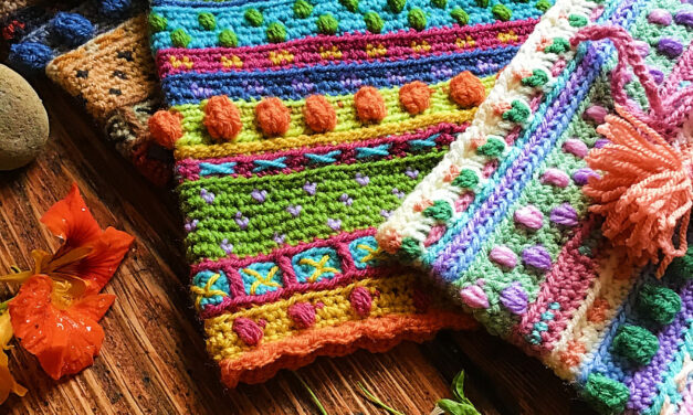 Crochet a Colorful Woodland Cosy Cowl … It's Fun and Full Of Textures!