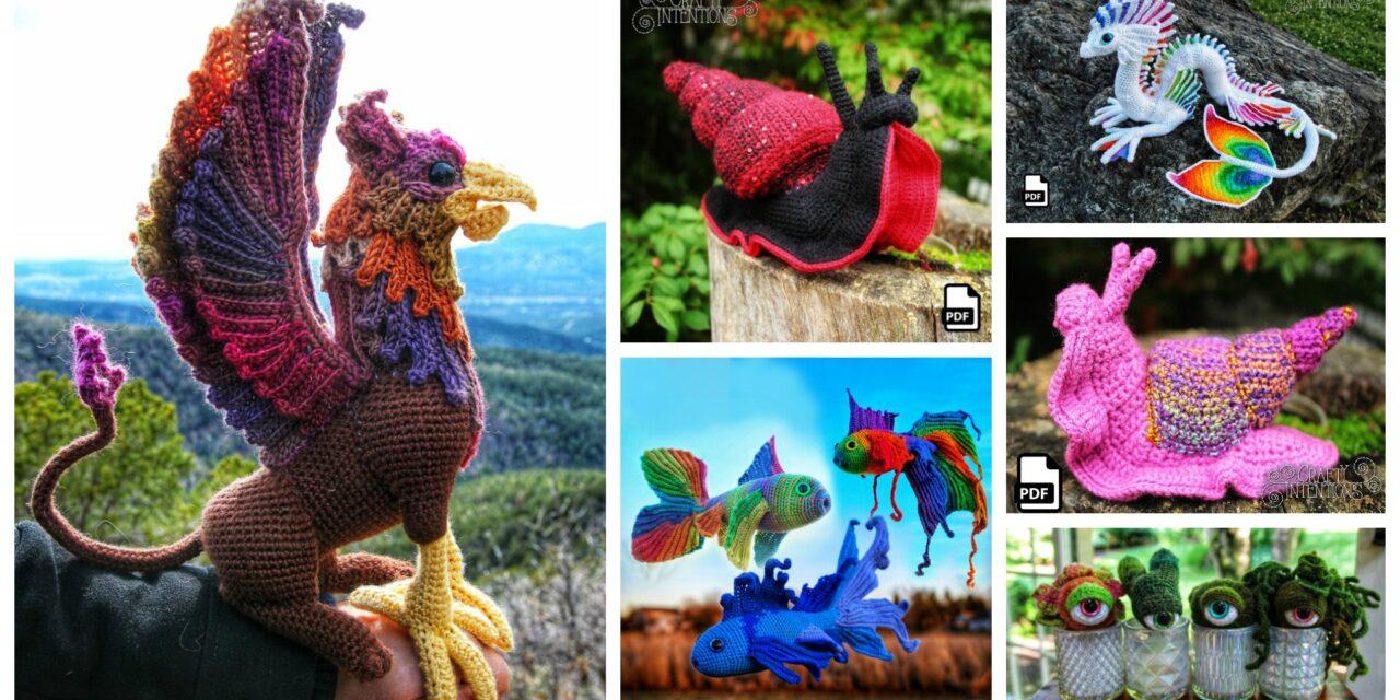 Designer Spotlight: The Best Of Crafty Intentions, Extraordinary Amigurumi Designs By Megan Lapp
