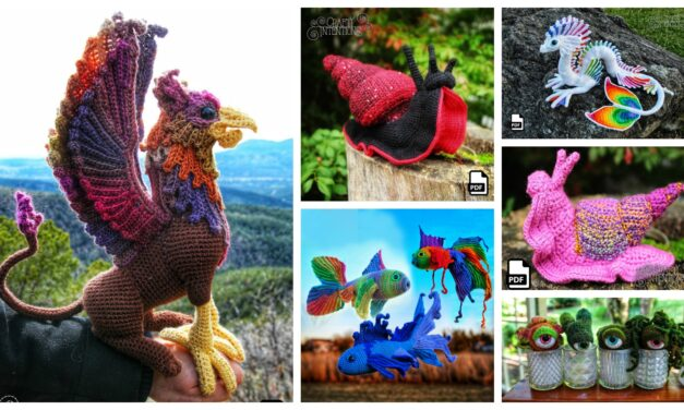 Designer Spotlight: The Best Of Crafty Intentions, Extraordinary Amigurumi Designs By Megan Lapp