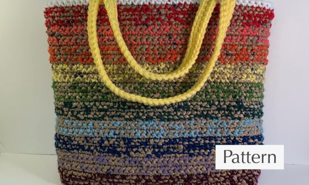 Use Old Plastic Grocery Bags To Crochet A Gorgeous Market Bag … Saving The World Can Look Good Too