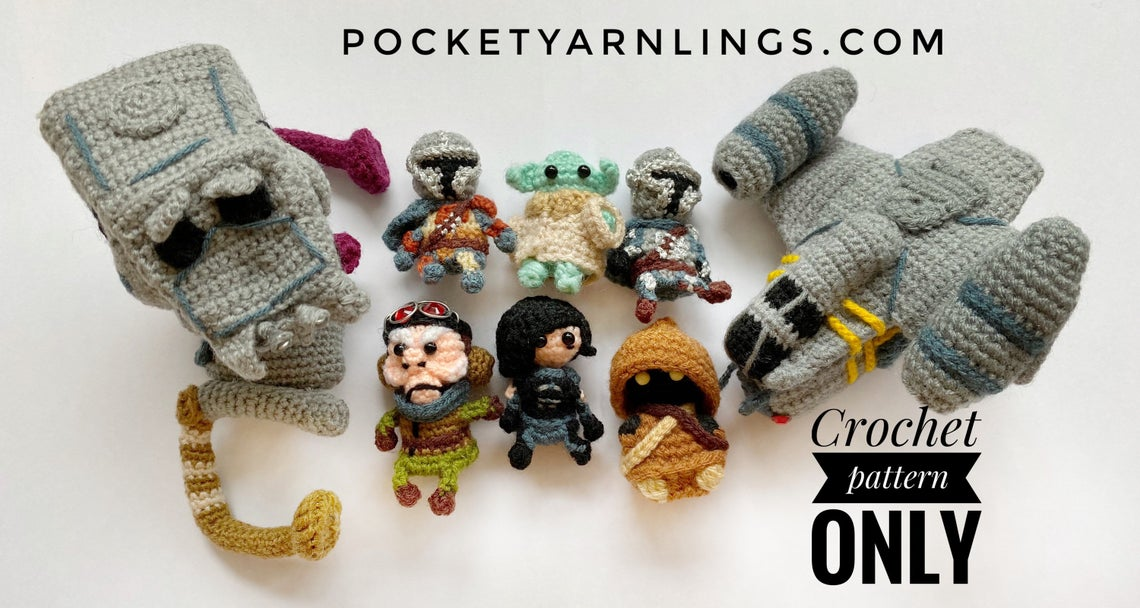 Cute Amigurumi Patterns By Huipei Zhang … She Calls Them Pocket Yarnlings … Quick Gift Alert and a Contest Too!