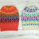 It's Time To Knit a Hat Trick #5 Designed By Alma of Heaven To Seven