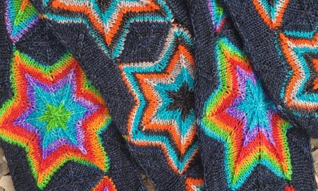 Gorgeous Must-Knit 'Startrek Scarf' Designed By Natalia Moreva … Wow!