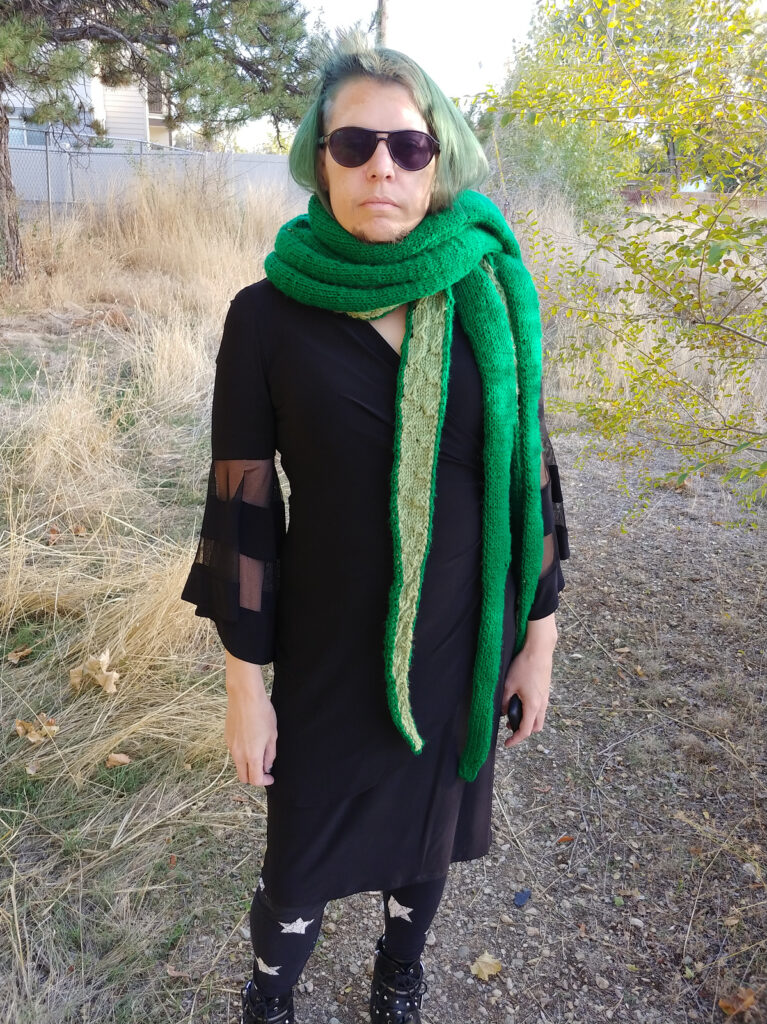 Knit An Eye-Popping Tentacle Shawl Designed By Ms Feminacho ... Wow!
