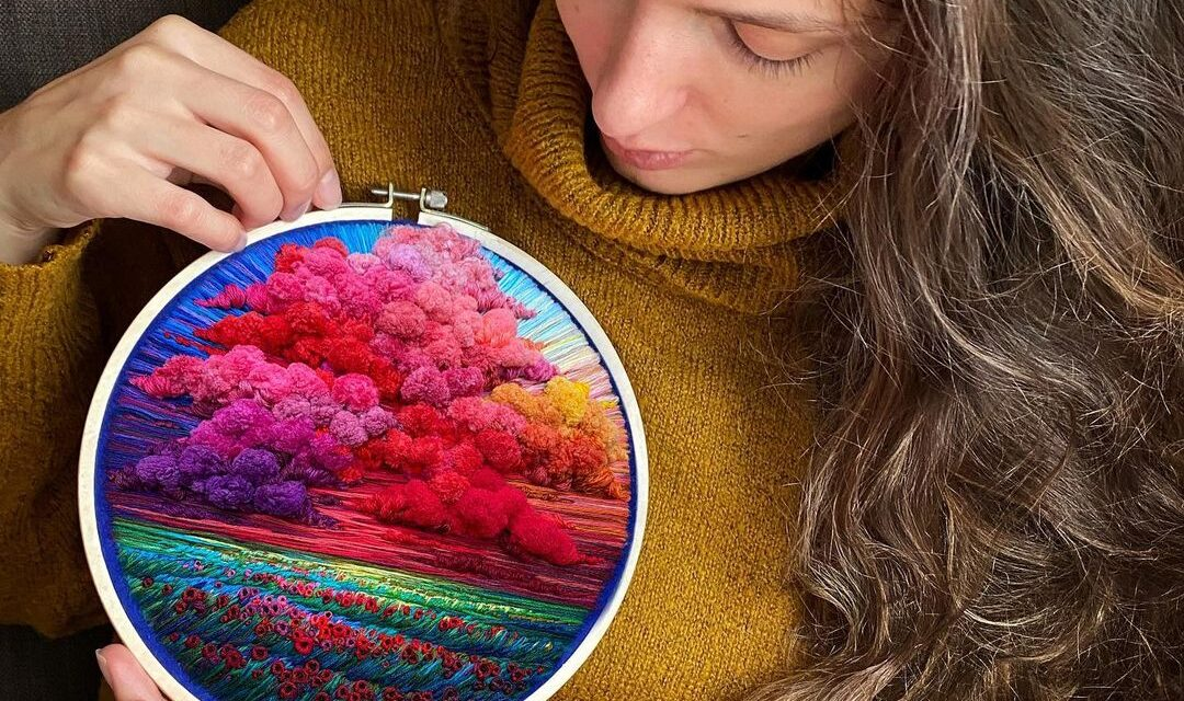 If You're Not Following Embroidery Artist @shimunia on Instagram, Why The Heck Not!?