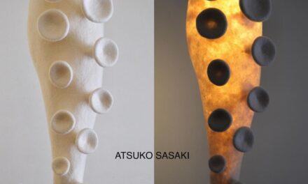Felted Sculpture Lamps By Atsuko Sasaki