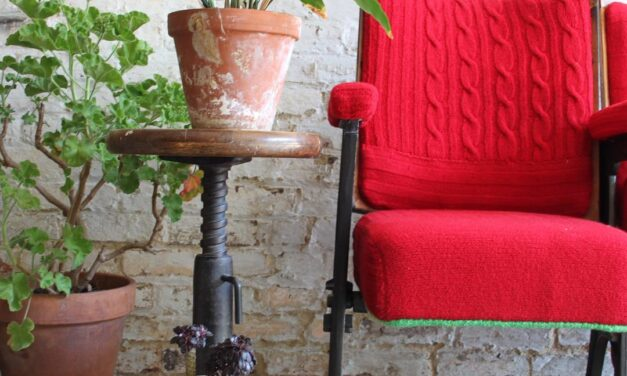 Knitting Meets Industrial Style … Melanie Porter's Work Continues To Stun!