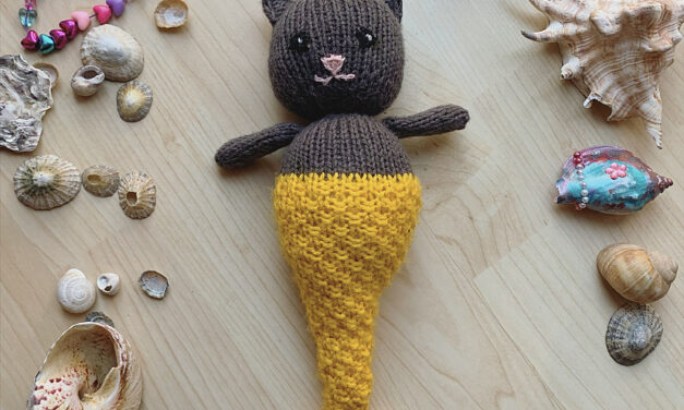 It's a My Little Purrmaid Amigurumi and The Knit Pattern Is FREE!
