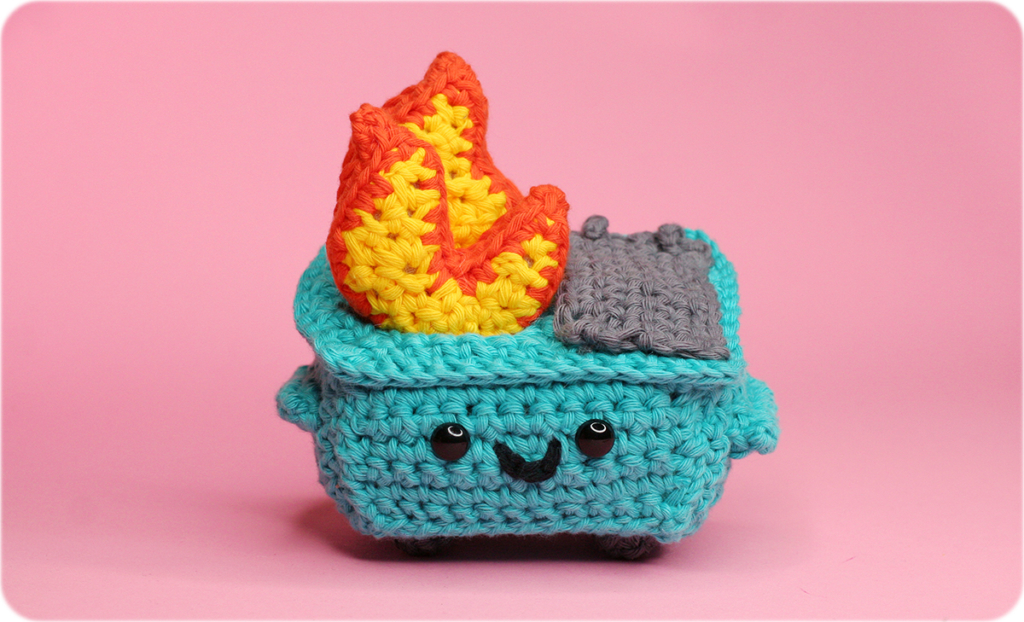 Knit & Crochet 2020 Away With These Dumpster Fire Patterns …