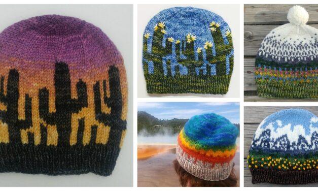 Hat Patterns Inspired By U.S. National Parks, Designed By Nancy Bates