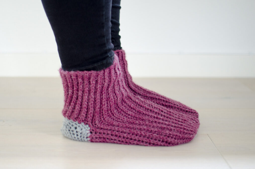 Crochet A Pair Of 'Your Sunrise Socks' ... Free Pattern!