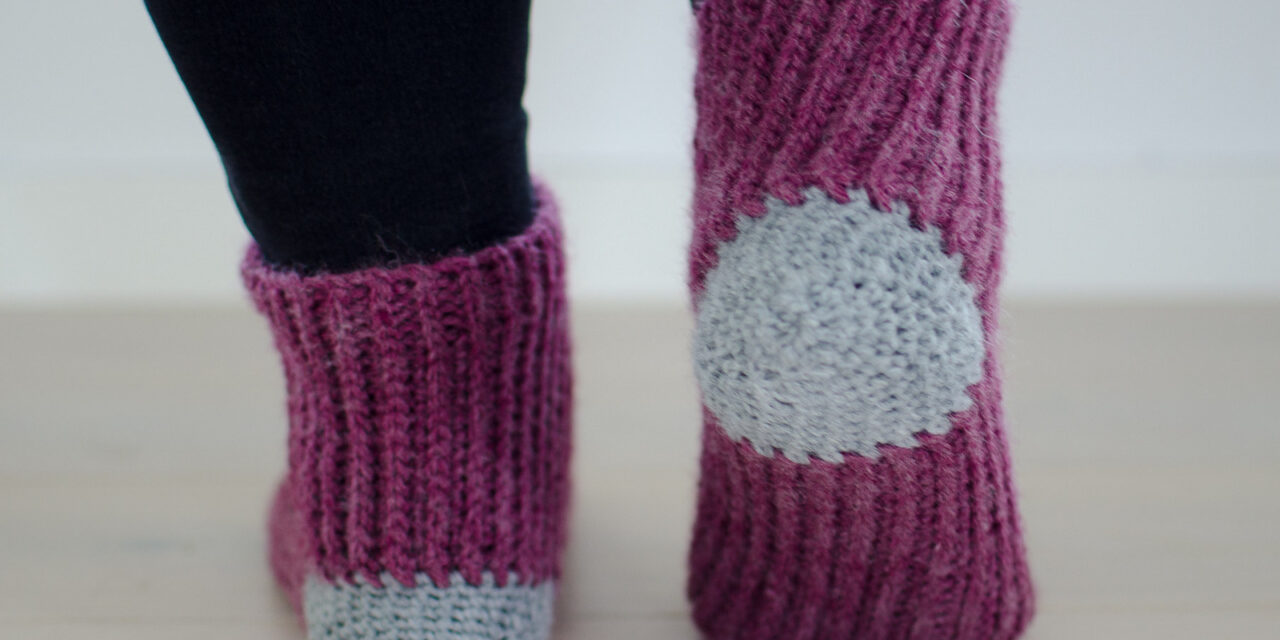 Crochet A Pair Of 'Your Sunrise Socks' … Free Pattern!